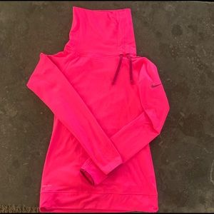 Nike Women's Pro Hyperwarm Side Tie Top